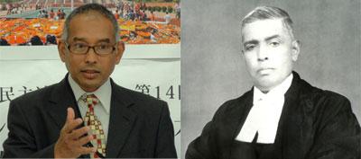 第16回講演会「戦後70年 アジアの立場からパール判事判決を考える」 講師 プロビール・ビカシュ・シャーカー