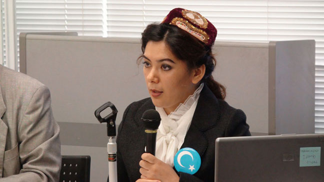 第12回講演会報告と動画「ウイグル女性の人権問題」講師 グリスタン(日本ウイグル協会)