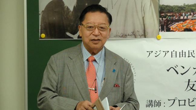 第14回講演会「ベンガル地方と日本 友好100年史」 講師 プロビール・ビカシュ・サーカー